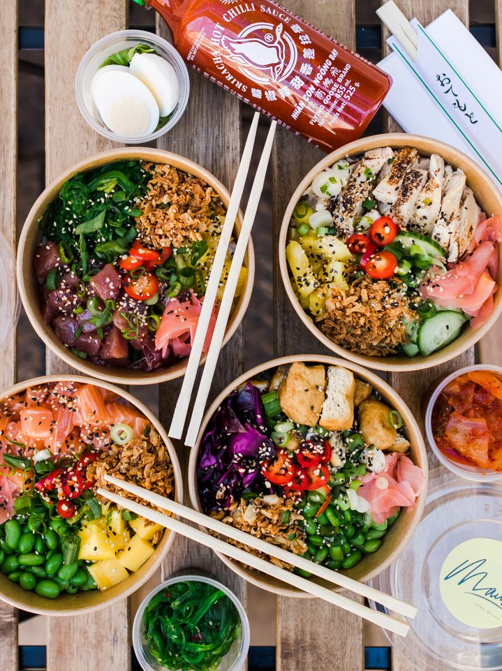 Maui Hawaiian Poke Bowl in London